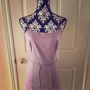 Vintage J. Crew Lavender Spaghetti Strap Dress